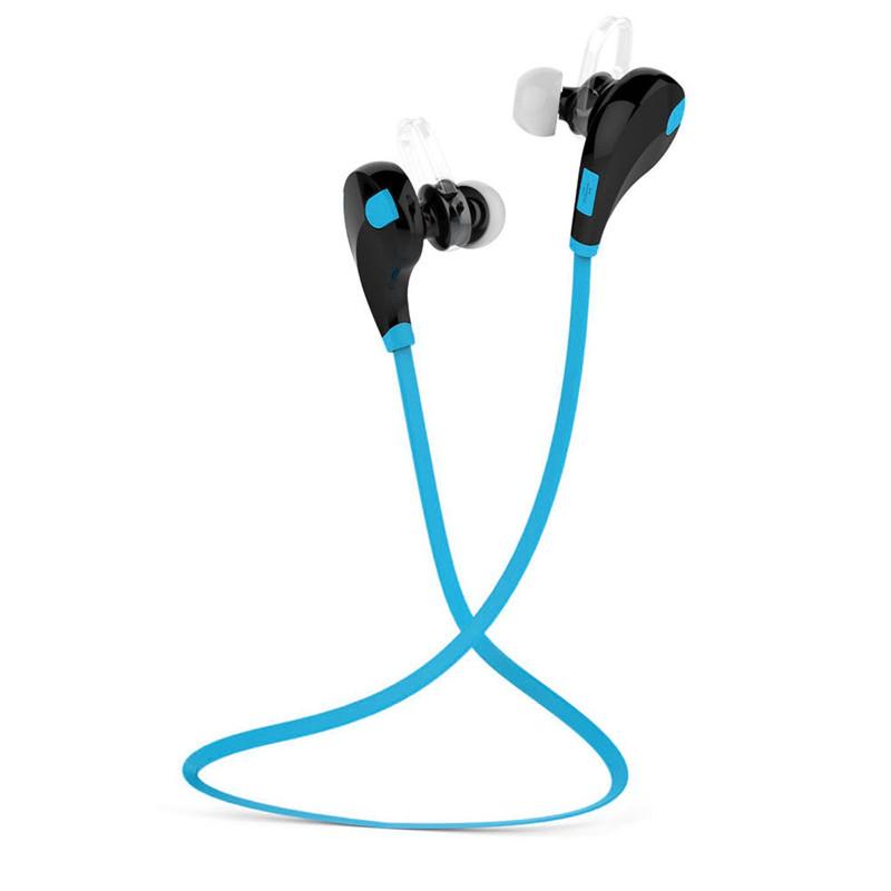 Auricolari bluetooth 4 1 stereo per sport headset cuffie wireless con microfono ebay - Cuffie per sport ...
