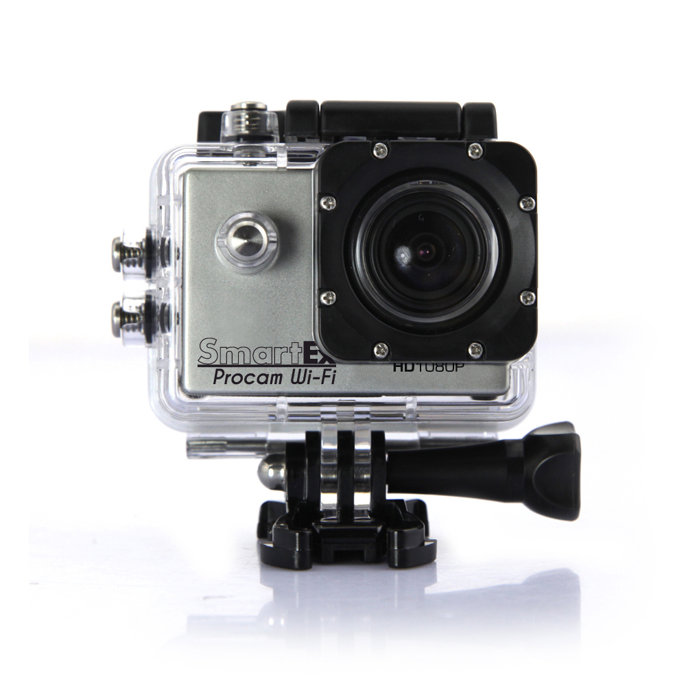 pro cam sport wifi hd 1080p action camera go 12mp. Black Bedroom Furniture Sets. Home Design Ideas